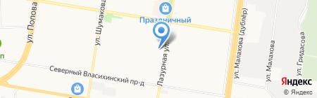 Колямба! на карте Барнаула