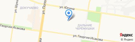 Детская школа искусств на карте Барнаула
