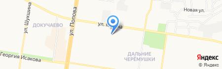 Детский сад №232 на карте Барнаула