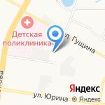 Алтайский ювелирный завод им. Демидова А.Н. на карте Барнаула
