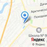 Мелиоратор на карте Барнаула
