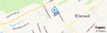 ПивНицца на карте Барнаула