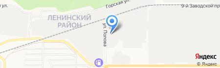 Алтай-Известь на карте Барнаула