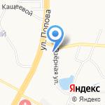 Алтайавтоэмаль на карте Барнаула
