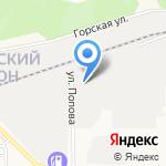 Бетонстрой на карте Барнаула