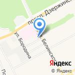Здравгород на карте Барнаула