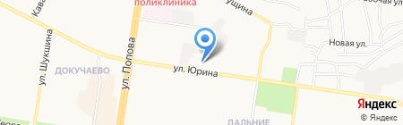 Участковый пункт полиции Отдела полиции №3 УВД по г. Барнаулу на карте Барнаула