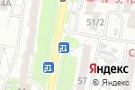 Схема проезда до компании Горячие беляшики в Барнауле