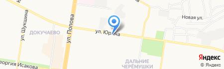 Алтайские перевозки на карте Барнаула