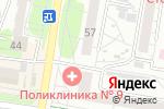 Схема проезда до компании Алтфарм в Барнауле