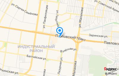 Местоположение на карте пункта техосмотра по адресу г Барнаул, тракт Павловский, д 251Д