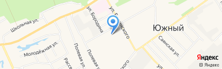 Гала на карте Барнаула