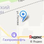 МастерПласт на карте Барнаула