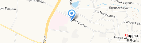 Богрина на карте Барнаула