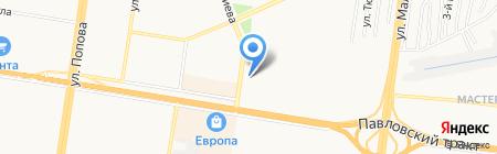 Монтаж Мастер на карте Барнаула