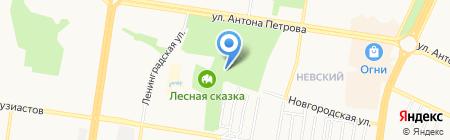 Абордаж на карте Барнаула