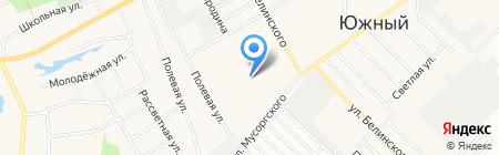 Детский сад №197 Карусель на карте Барнаула