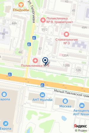 АПТЕКА АРНИКА-ПЛЮС на карте Барнаула