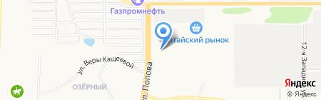 Автотурсервис на карте Барнаула