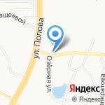 Долгов В.А. на карте Барнаула