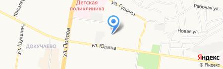 Служба заказа самосвала на карте Барнаула