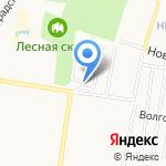 Ветеран на карте Барнаула