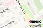 Схема проезда до компании Идеал в Барнауле