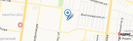 Детский сад №173 на карте Барнаула