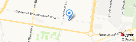 Парикмахерская для всей семьи на карте Барнаула