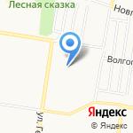 Детская городская поликлиника №9 на карте Барнаула