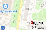 Схема проезда до компании Art-Line в Барнауле