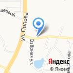 Долгов И.Е. на карте Барнаула
