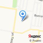 Солнышко на карте Барнаула
