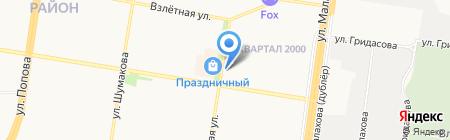 Большая Кружка на карте Барнаула
