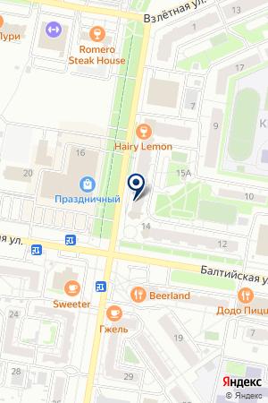 Мебельный салон на карте Барнаула