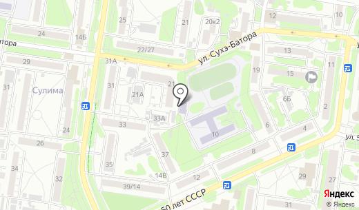 Дымковская игрушка. Схема проезда в Барнауле