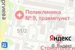 Схема проезда до компании Честный мастер в Барнауле