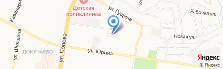 Электропром на карте Барнаула