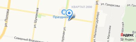 Дом Бизнеса на карте Барнаула