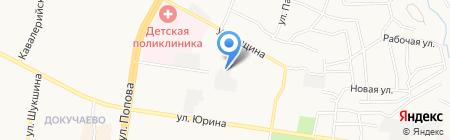 АкваСервис на карте Барнаула