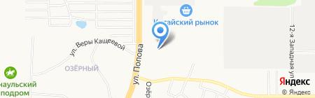 Массив+ на карте Барнаула