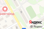 Схема проезда до компании Победа в Барнауле