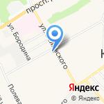 Ноутбук-Сервис на карте Барнаула
