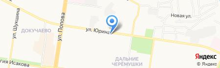 Пивная тема на карте Барнаула
