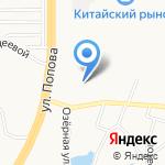 ОЗЁРНАЯ ЗАСТАВА на карте Барнаула
