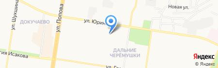 Детский сад №170 Антошка на карте Барнаула