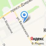 СВ-сервис на карте Барнаула