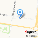 Огни Шаров на карте Барнаула