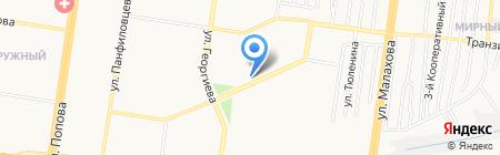 Клаксон на карте Барнаула