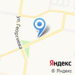 Автомобильное ателье на карте Барнаула